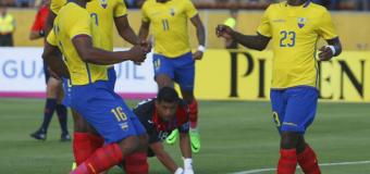 Ecuador venció 2-0 a Honduras y está listo el debut ante Argentina por eliminatorias